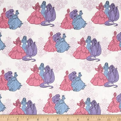 Disney Princess Fashion Princess Friends Multi Pastel