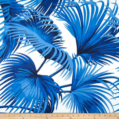 Ralph Lauren Home LCF68119F Outdoor Costa Tropica Palm Ultramarine