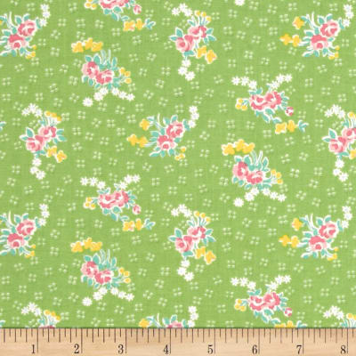 Penny Rose Mae Flowers Bouquet Green