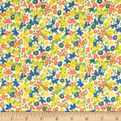 Penny Rose Mae Flowers Floral Yellow
