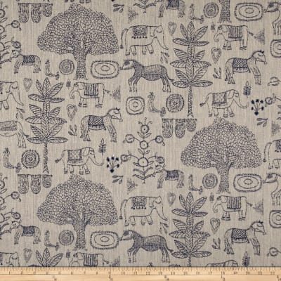 Justina Blakeney Fancy Forest Jacquard Indigo