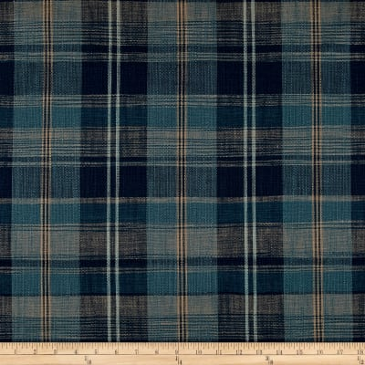 Ralph Lauren Home LCF68195F Ryokan Plaid Indigo