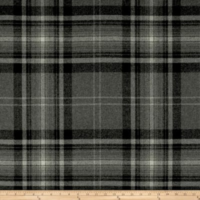 Ralph Lauren Home LFY68187F Hawthorne Plaid Melton Wool Flint