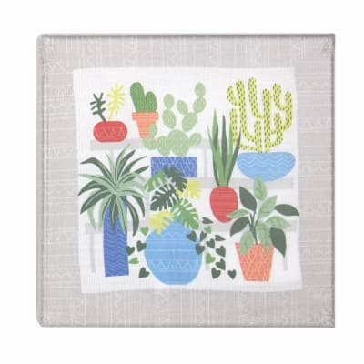 Botanical Stretched Canvas Embroidery kit