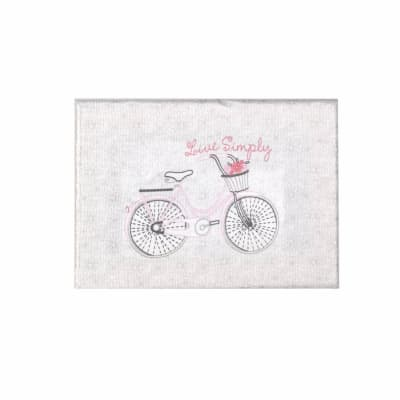 Bicycle Live Simply Stretched Canvas Embroidery Kit