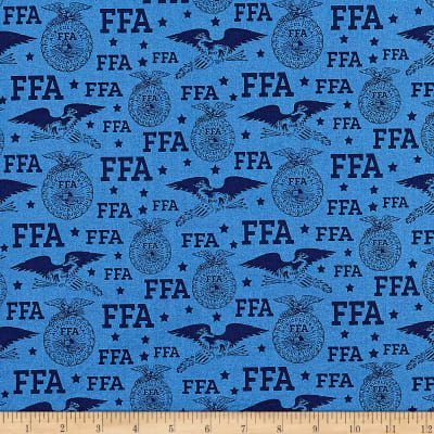 Riley Blake FFA Logo Blue