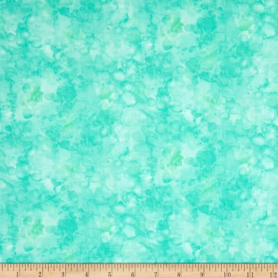Timeless Treasures Solid-ish Watercolor Texture Mint