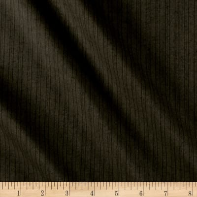 Double Stripe Super 110 Suiting Black/Brown
