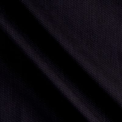 Stripe Twill Super 110 Suiting Black/Navy
