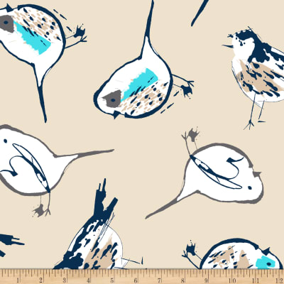 Shannon Premier Prints Minky Cuddle Early Bird Beige