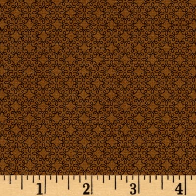 Modern Melody Basic Filigree Geo Brown