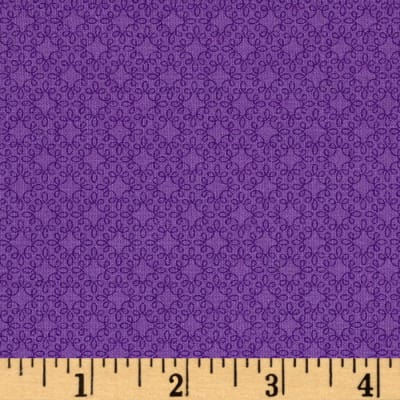 Modern Melody Basic Filigree Geo Purple