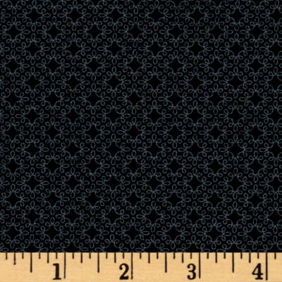 Modern Melody Basic Filigree Geo Black