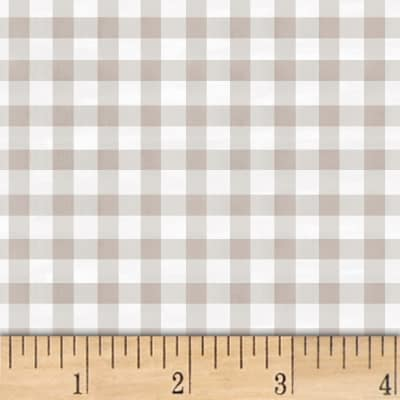 Smitten With Spring Gingham Grey