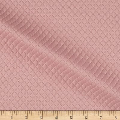Telio Mini Quilted Knit Diamond Blush