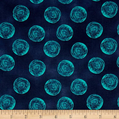 Makers Home Ranunculus Navy