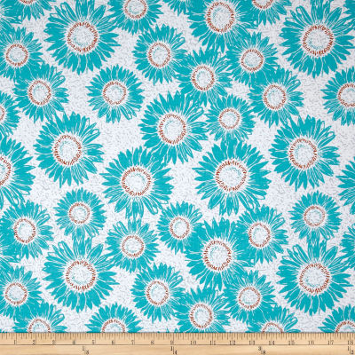 Makers Home Sunflower Turquoise