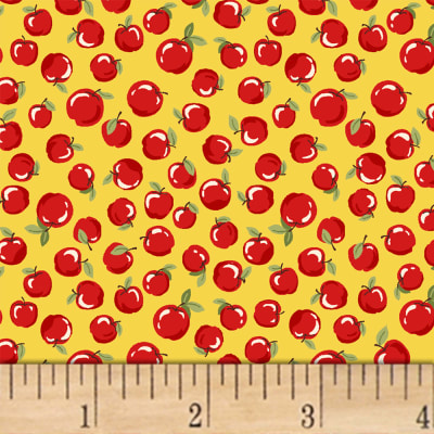 Little Red Riding Hood  Apples Yellow