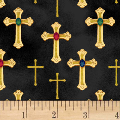Three Kings Crosses Metallic Onyx