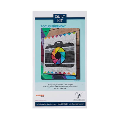 Foundation B.O.M.  Focus And Freeway Quilt Kit