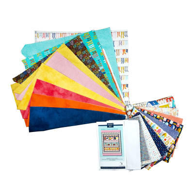 Paint The Town  Small Town Sampler  Quilt Kit