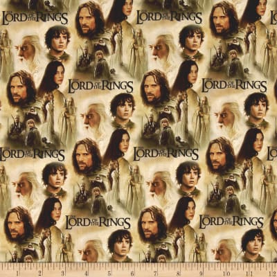 Lord of the Rings Two Towers Collage