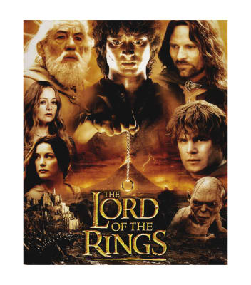 "Lord of the Rings Characters 36"" Panel Multi"