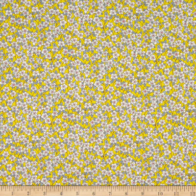 Liberty Fabrics Tana Lawn Ffion Yellow