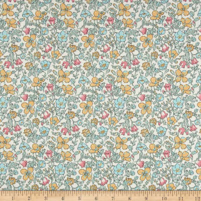 Liberty Fabrics Tana Lawn Meadow Light Green