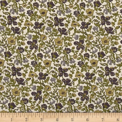 Liberty Fabrics Tana Lawn Meadow Green