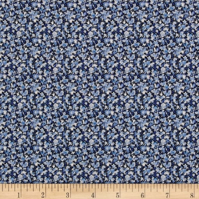 Liberty Fabrics Tana Lawn Pepper Blue