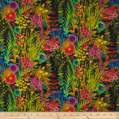 Liberty Fabrics Tana Lawn Tresco Black Multi