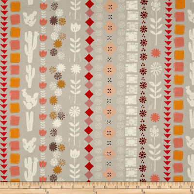Cotton + Steel Sunshine Collage Grey