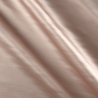 Europatex Royal Slub Satin Drapery Blush