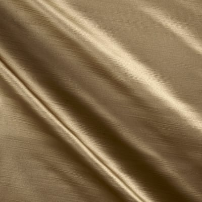 Europatex Royal Slub Satin Drapery Tan