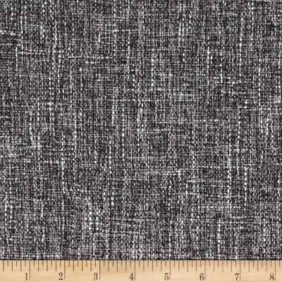 Europatex Pandora Upholstery Basketweave Charcoal/Brown