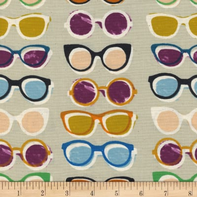 Cotton + Steel Poolside Shade Natural