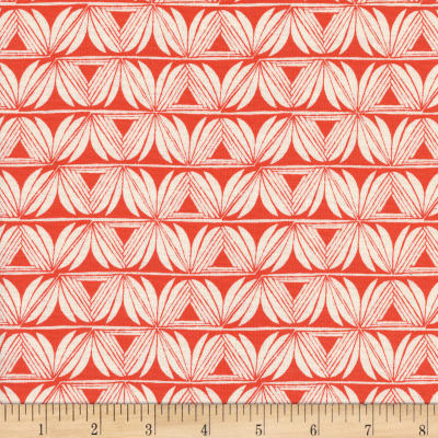 Cotton + Steel Santa Fe Pottery Red