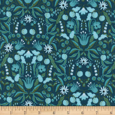 Cotton + Steel Rifle Paper Co Amalfi Freja Turquoise