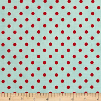 Sugar Berry Spot On Metallic Radiant Aqua