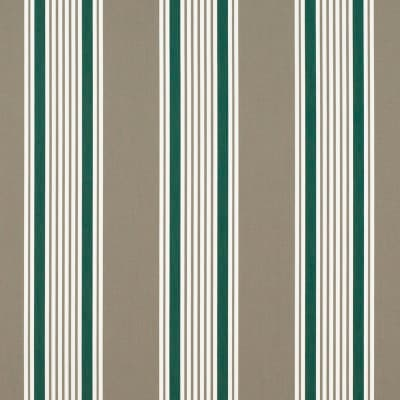 "Sunbrella 46"" Stripes Premium Taupe 5 Bar"