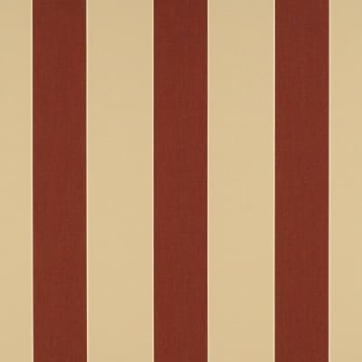 "Sunbrella 46"" Stripes Premium Havelock Brick"