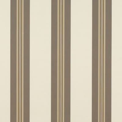 "Sunbrella 46"" Awning Stripe Premium 4945-0000 Taupe Tailored Bar"