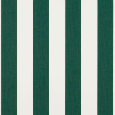 "Sunbrella 46"" Stripes Standard Forest/Ntrl 6 Bar"