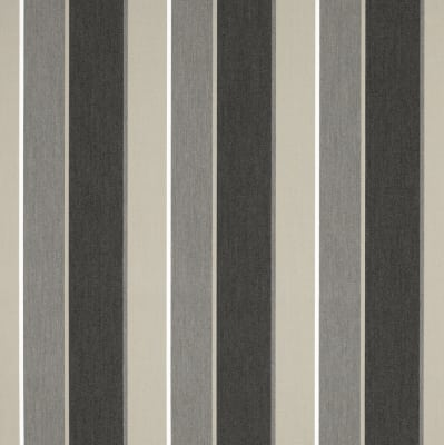 "Sunbrella 46"" Stripes Premium Clinton Granite"