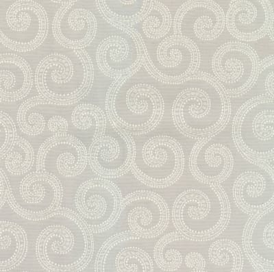 Crypton Clematis Jacquard Light Grey