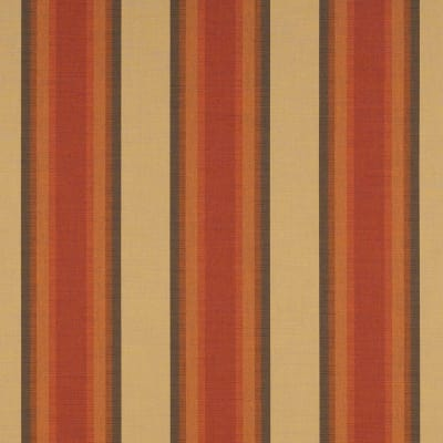 "Sunbrella 46"" Stripes Premium Colonnade Redwood"