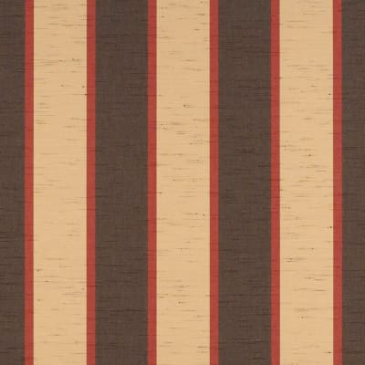 "Sunbrella Sunbr 46"" Stripes Premium Outdoor 4773 Bisque Brown"