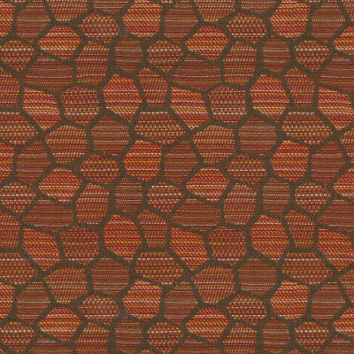 Crypton Honeycomb Jacquard Flame