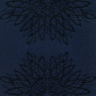 Crypton Continuous Jacquard Navy